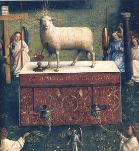 bleeding lamb